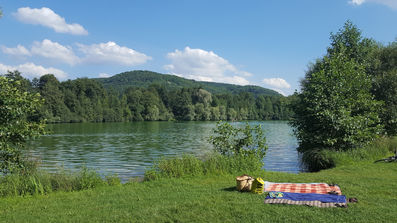 Happurger-Baggersee-Liegewiese