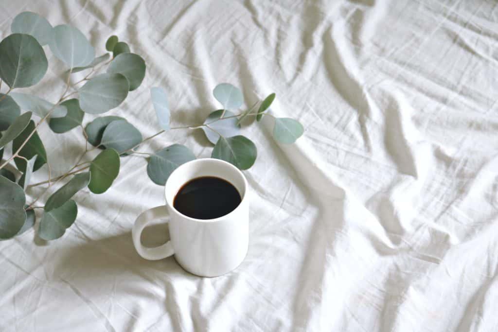 Kaffee-Decke