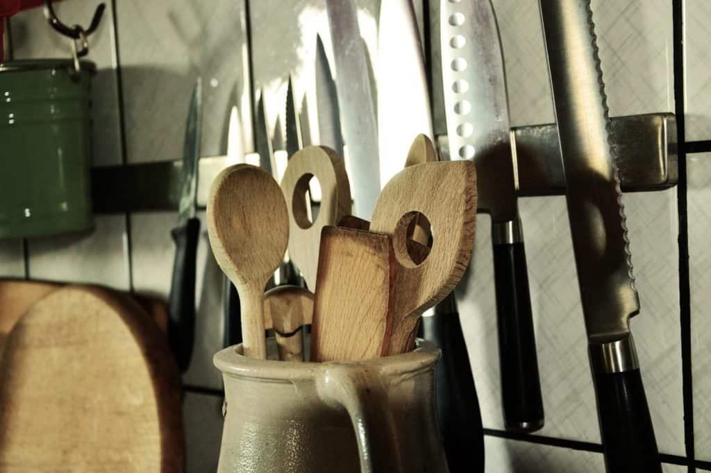 Kochloeffel-Messer