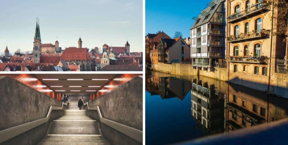 Drei Bilder von verschiedenen Nürnberger
